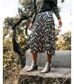 Falda plisada - Mónica