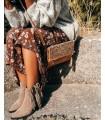 Chaqueta de lana - Violeta